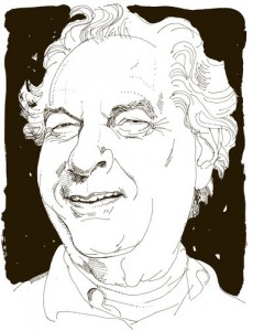 Joseph Heller, illustration by Joe Ciardiello.